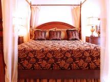 piękna sypialnia Obrazy Stock