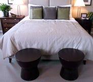 piękna sypialnia nowoczesnej Zdjęcie Royalty Free