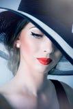 piękna tajemnicza kobieta Obraz Royalty Free