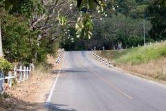 Piękna Tajlandia miejscowego Bangpra Chonburi droga fotografia stock