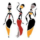 Piękna tancerz sylwetka Zdjęcie Royalty Free