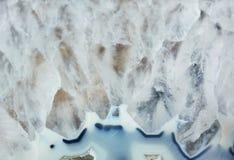 Piękna tekstura gemstone agat Obrazy Stock