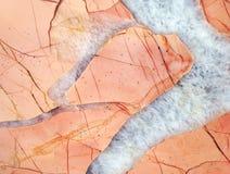 Piękna tekstura gemstone jaspis Zdjęcie Stock