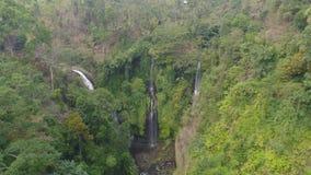 Pi?kna tropikalna siklawa Bali, Indonezja zbiory