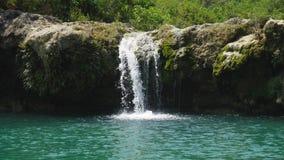 piękna tropikalna wodospadu Filipiny, Luzon Fotografia Royalty Free