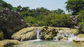 piękna tropikalna wodospadu Filipiny, Luzon Zdjęcie Stock