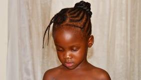 Piękna tswana dziewczyna Obrazy Royalty Free