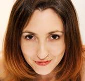 piękna twarz kobiety Fotografia Stock