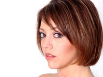 piękna twarz ruda Obraz Stock
