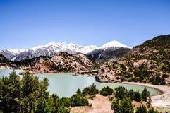 Piękna Tybet sceneria w porcelanie Zdjęcie Royalty Free