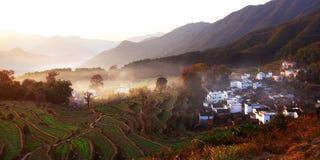 piękna wioska Obrazy Royalty Free