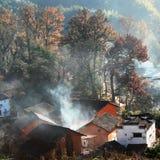 piękna wioska Fotografia Stock