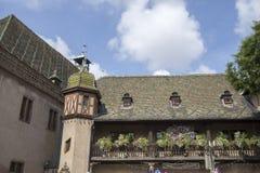 Piękna wioska Colmar Obraz Stock