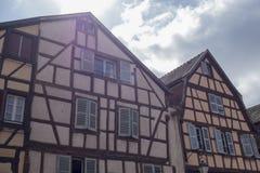 Piękna wioska Colmar Zdjęcia Stock