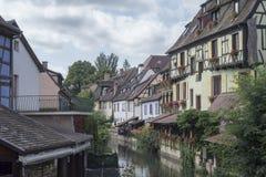 Piękna wioska Colmar Fotografia Stock