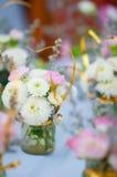 Piękna wiosna kwitnie w szkle zdjęcia stock