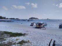 piękna wyspa Obrazy Stock