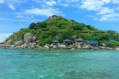Piękna wyspa Fotografia Stock