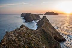 Piękna wyspy linia brzegowa zdjęcie royalty free