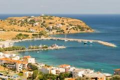 Piękna zatoka przy Agioi Apostoloi w Evia Grecja Zdjęcie Royalty Free