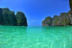 Piękna zatoka w Tajlandia zdjęcie royalty free