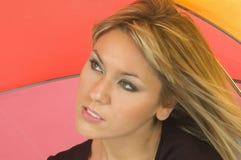 piękne blond Zdjęcia Royalty Free