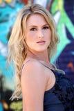 piękne blond kobiet young zdjęcia royalty free