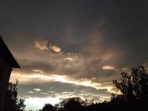 piękne chmury Fotografia Royalty Free