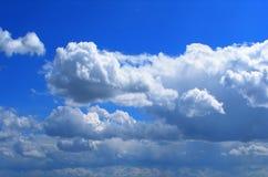 piękne chmury Zdjęcia Royalty Free