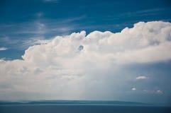 Piękne chmury obrazy royalty free