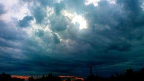 piękne chmury Zdjęcie Royalty Free