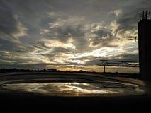 piękne chmury Obraz Stock