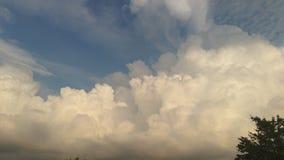 piękne chmury Obraz Royalty Free