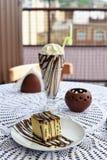 piękne ciasto Obrazy Royalty Free