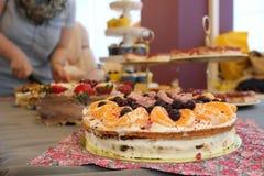 piękne ciasto Obraz Royalty Free