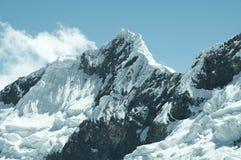 piękne cordilleras górskie Obrazy Royalty Free
