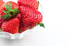 Piękne czerwone truskawki Fotografia Stock