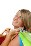 piękne dziewczyny na zakupy nastolatków. Zdjęcie Stock