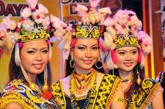 piękne dziewczyny plemienne Zdjęcia Royalty Free