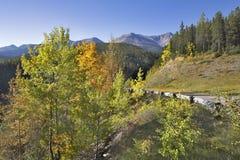 piękne góry drogowe Fotografia Stock
