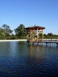 piękne jezioro Fotografia Royalty Free