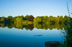 piękne jezioro zdjęcie royalty free