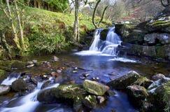 Piękne kaskady, Afon Caerfanell rzeka, Blaen-y-Glyn Zdjęcie Royalty Free