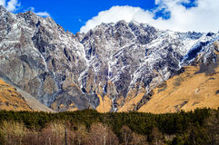 Piękne Kaukaz góry, Gruzja Zdjęcie Royalty Free
