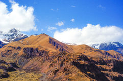 Piękne Kaukaz góry, Gruzja Fotografia Stock