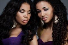Piękne kobiety Obrazy Royalty Free