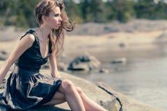 piękne kobiety young Zdjęcia Stock