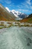 piękne krajobrazowe góry obrazy stock