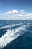 piękne krajobrazowe oceanu nieba fala Zdjęcie Royalty Free