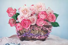 piękne kwiaty bukietów Fotografia Royalty Free